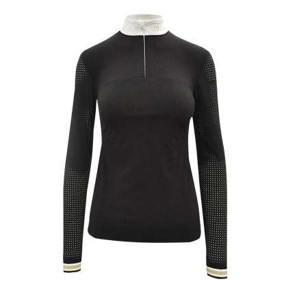 "Tournamentshirt ""Clueso Zip"" black"