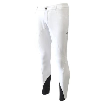 """Jungs Reithose """"Henry 5-Layer"""" White"""