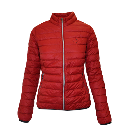 "Puffa Jacket ""Sophia"" Chilli Red"