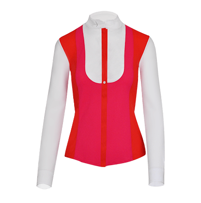 "Tournament Blouse ""Laila"" Chilly Red"