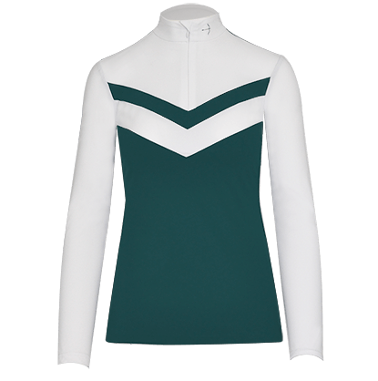 "Tournament Blouse ""Vivien"" Racing Green"