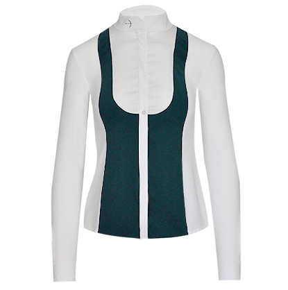 "Turnierbluse ""Laila"" Racing Green"