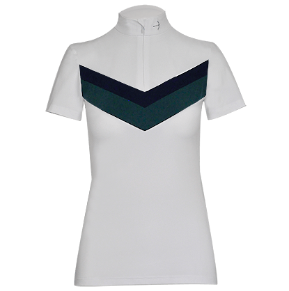 "Tournament Blouse ""Vina"" Racing Green"