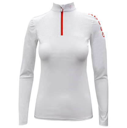 "Tournament Shirt ""Sarah Sport"" White"