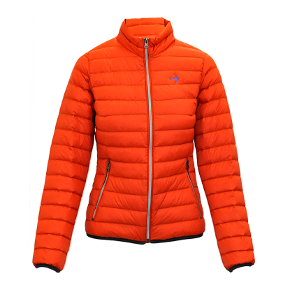 "Daunenjacke ""Sophia"" Orange"