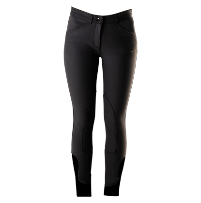 """Breeches """"Laura Patch Cell"""" Graphite"""