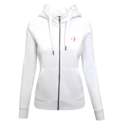 "Sweat jacket ""Steph"" White"